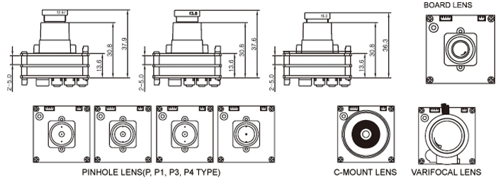 technical drawing of KPC-E700