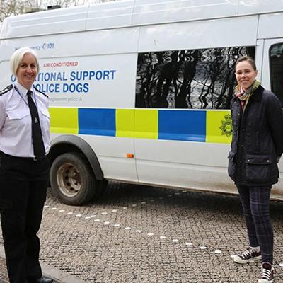 Police Dog Theft Nottingham