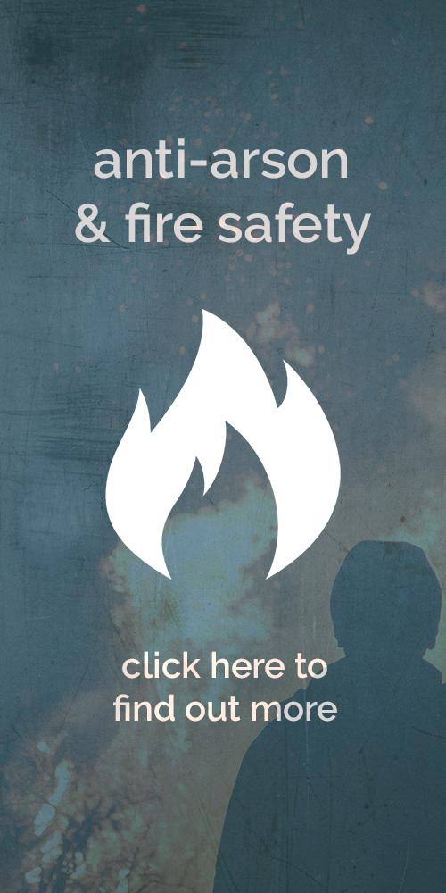 Anti-arson button