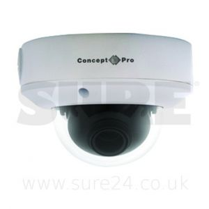 Concept Pro CVP9324WDR VR Day-Night Varifocal Dome Camera with Wide Dynamic Range & Sens-up