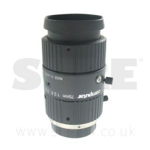 Computar M7528-MP 2/3 Megapixel C Mount Lens 75mm