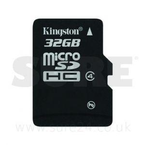 Kingston SD32GB-MICRO Secure Micro SDHC Card 32GB