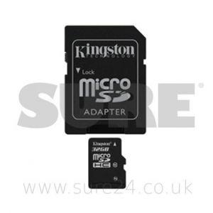 Kingston SD32MICRO-10-ADAPT Kingston Micro 32 GB SDHC Class 10 with Adapter